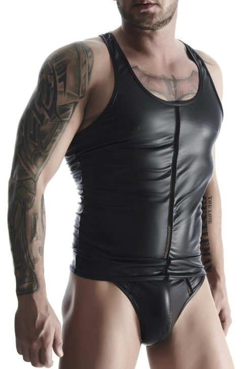 Muscle-Shirt TSH003 schwarz von Regnes Fetish Planet