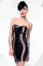 schwarzes Minikleid Astrid von Demoniq Hard Candy Collection